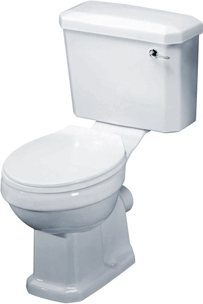 Additional image for Carlton 4 Piece Bathroom Suite, 600mm Basin (2 Tap Holes).