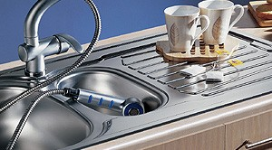 Additional image for Sparta Kitchen Sink & Waste. 1000x500mm (Reversible, 1.5 Bowl).