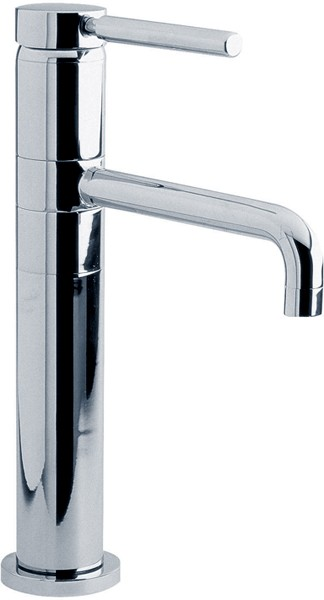 Additional image for Single lever high rise mixer, swivel spout (chrome)