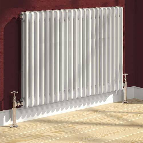 Additional image for Colona 2 Column Radiator (White). 500x785mm.