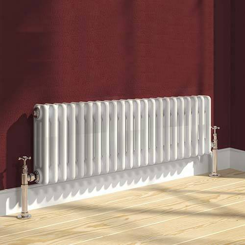 Additional image for Colona 3 Column Radiator (White). 300x1010mm.