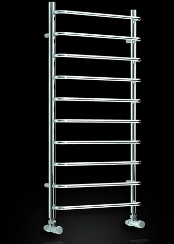 Additional image for Aliano Towel Radiator (Chrome). 1000x500mm.