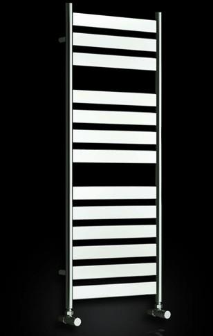 Additional image for Carpi Towel Radiator (Chrome). 400x1200mm.