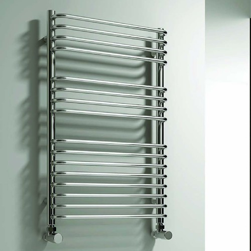 Additional image for Isaro Towel Radiator (Chrome). 500x1100mm.