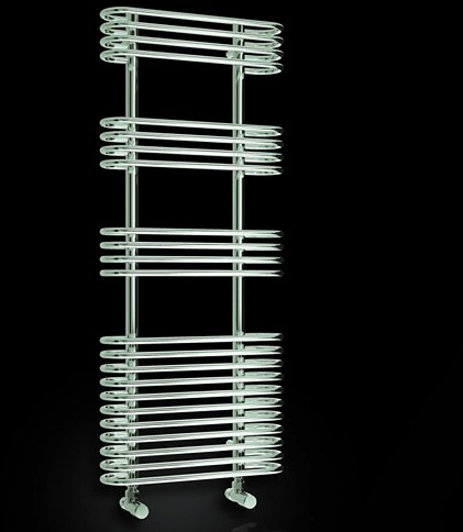 Additional image for Mirus Towel Radiator (Chrome). 500x900mm.