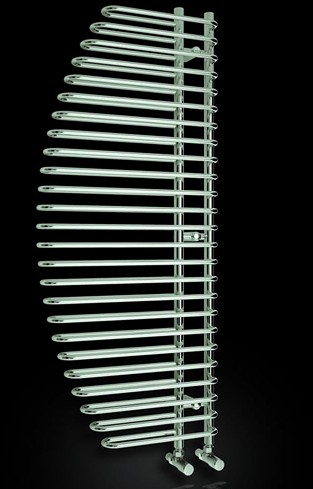 Additional image for Nola Designer Towel Radiator (Chrome). 600x1400mm.