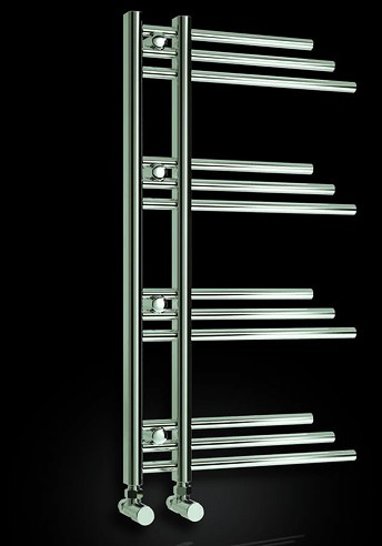 Additional image for Palmari Towel Radiator (Chrome). 500x900mm.