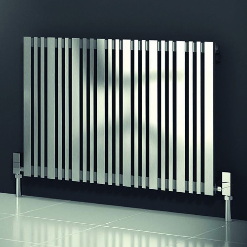 Additional image for Versa Radiator (Satin Stainless Steel). 415x600mm.