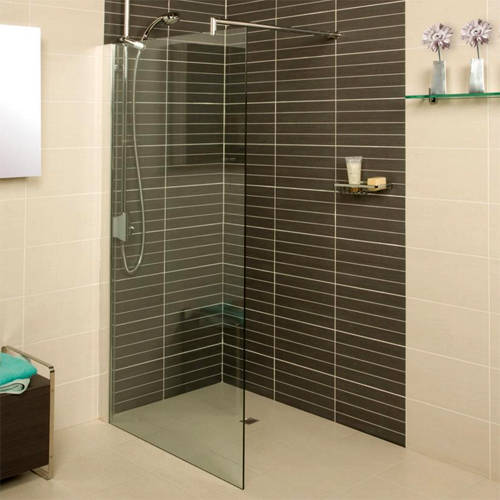 Additional image for Wetroom Shower Screen (1100x2000mm, 8mm).