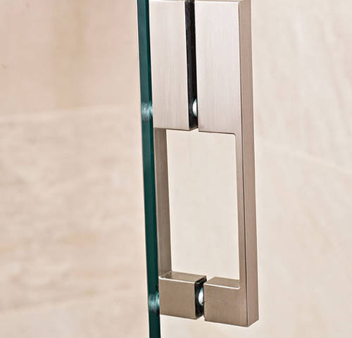 Additional image for Square Shower Enclosure With Hinged Door (800x800mm).