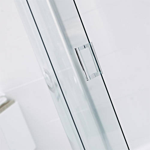 Additional image for Shower Enclosure With Pivot Door & 300 Panel (1300x900mm).