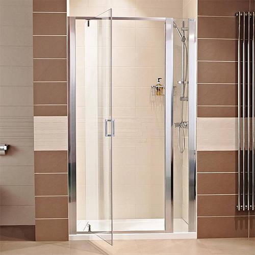 800 pivot shower door with 200 in line panel 1000mm for 1000mm pivot shower door