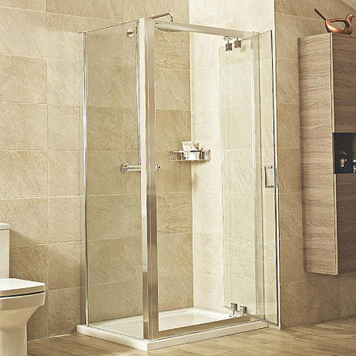 Additional image for Shower Enclosure With Inswing Door (760x760mm).