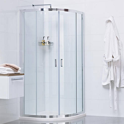 Additional image for Quadrant Shower Enclosure With 2 Doors (900x900mm).