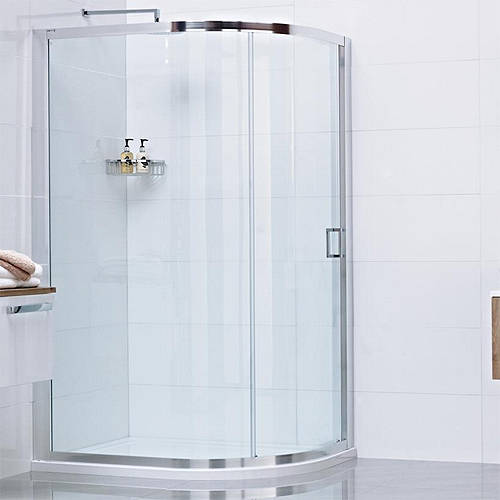 Additional image for Offset Quadrant Shower Enclosure With 1 Door (800x1200).