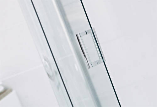 Additional image for Offset Quadrant Shower Enclosure With 1 Door (800x900mm).