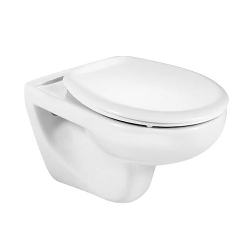 Additional image for Laura Wall Hung Toilet Pan & Seat.