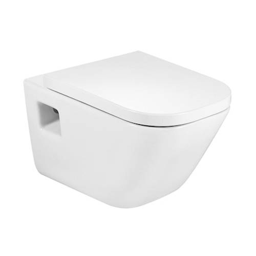 Additional image for The Gap Wall Hung Toilet Pan & Seat.