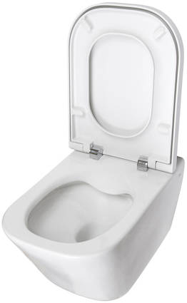 Additional image for The Gap Wall Hung Rimless Toilet Pan & Seat.