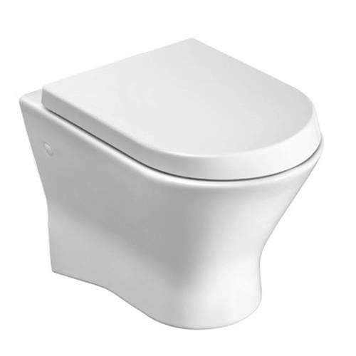 Additional image for Nexo Wall Hung Toilet Pan & Seat.