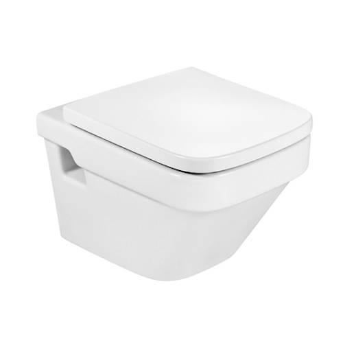 Additional image for Dama-N Wall Hung Compact Toilet Pan & Seat.