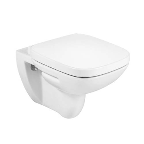 Additional image for Debba Wall Hung Toilet Pan & Seat.