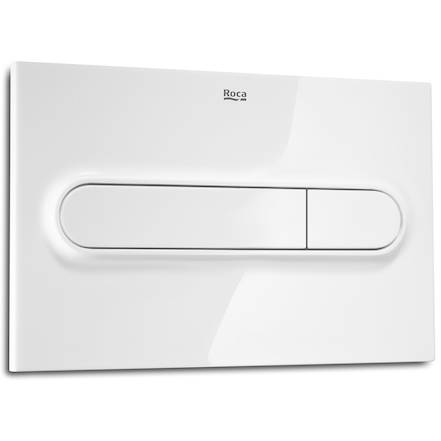 Additional image for Low Height Concealed Cistern & PL1 Dual Flush Panel (White).