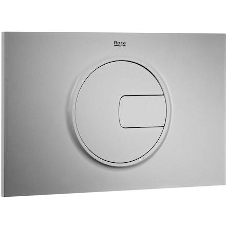 Additional image for Low Height Concealed Cistern & PL4 Dual Flush Panel (Grey).