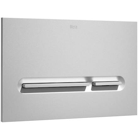Additional image for Low Height Concealed Cistern & PL5 Dual Flush Panel (Grey).