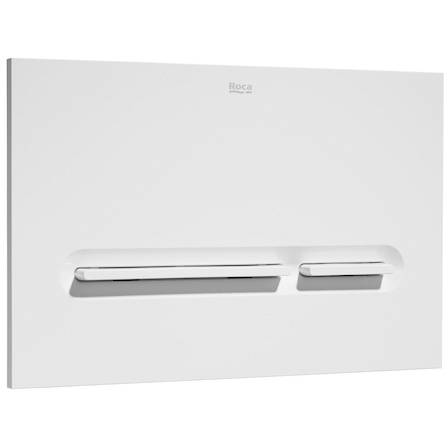 Additional image for Low Height Concealed Cistern & PL5 Dual Flush Panel (White).