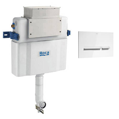 Additional image for Low Height Concealed Cistern & PL5 Dual Flush Panel (Combi).