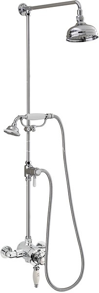 Additional image for Butler Exposed Shower Valve With Rigid Riser Kit & Diverter.