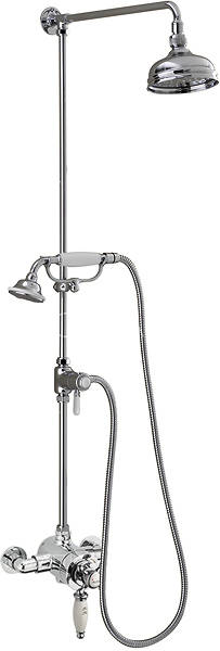 Additional image for Churchmans Exposed Shower Valve With Rigid Riser Kit & Diverter.