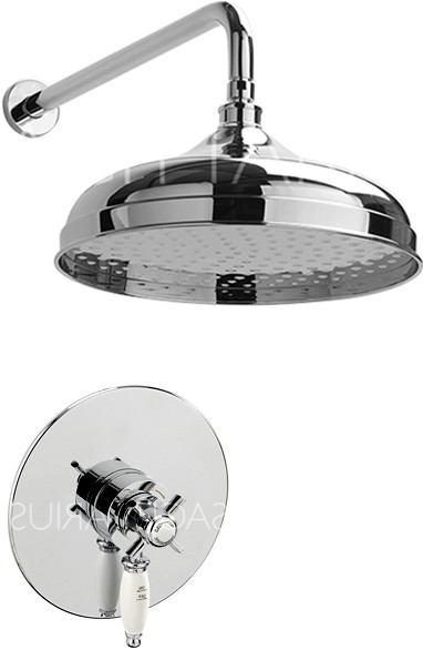 Additional image for Churchmans Shower Valve With Arm & 300mm Head (Chrome).