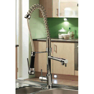 Additional image for Professional Kitchen Mixer Tap With Pull Out Spray (Chrome).