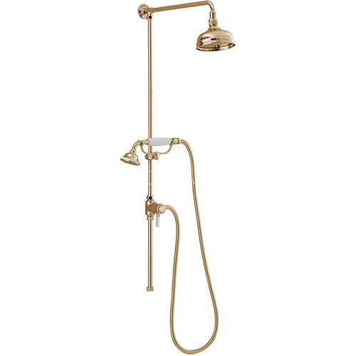 Additional image for Traditional Rigid Riser Kit With Diverter (Gold).