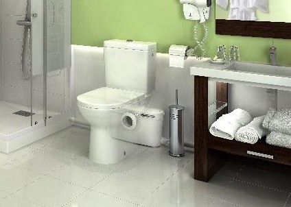 Saniaccess 3 Macerator For Toilet Basin Shower En Suite