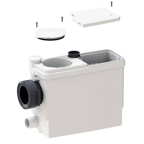 Additional image for Sanipack macerator for back to wall or wall hung WC 6052.
