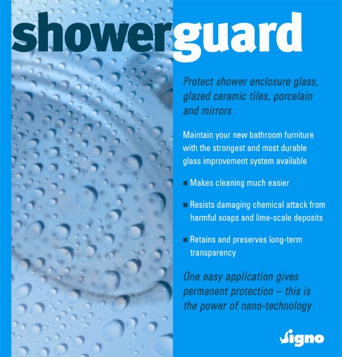 Additional image for Protects Shower Glass, Mirrors and Glazed Surface From Scum.