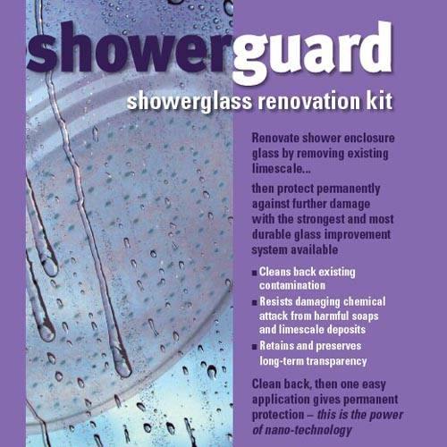 Additional image for Renovation Kit Refurbishes Existing Shower Enclosure Glass.