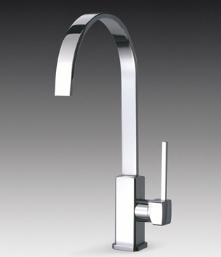 Additional image for Imola Single Lever Kitchen Tap With Water Saving Valve.