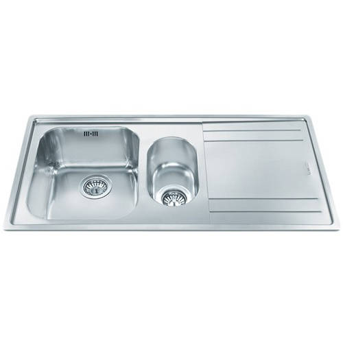 Additional image for Rigae 1.5 Bowl Sink With Right Hand Drainer (Stainless Steel).