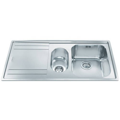 Additional image for Rigae 1.5 Bowl Sink With Left Hand Drainer (Stainless Steel).