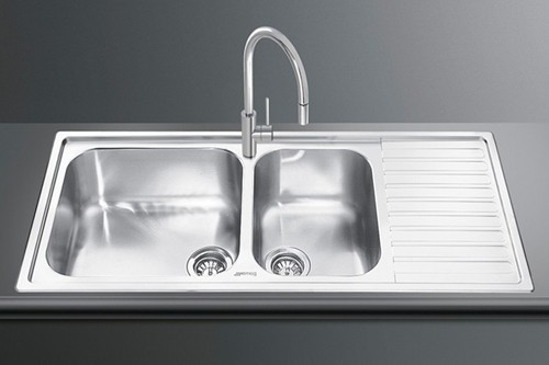 Additional image for Alba 1.5 Bowl Sink With Right Hand Drainer (Stainless Steel).
