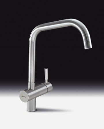 Additional image for Siena Kitchen Tap With Single Lever (Brushed Stainless Steel).