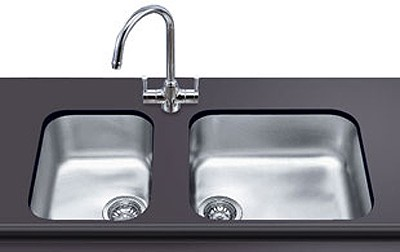 1 0 Bowl Oval Stainless Steel Undermount Kitchen Sink