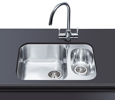 Additional image for 1.5 Bowl Stainless Steel Undermount Kitchen Sink.