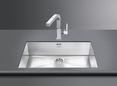 Additional image for Quadra Undermount Kitchen Sink 720x400mm (S Steel).