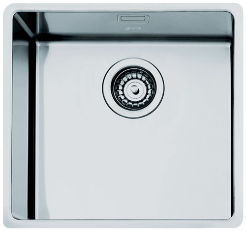 Additional image for Mira Single Bowl Undermount Kitchen Sink 500x400mm (S Steel).