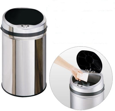 Additional image for 30 Litre Stainless Steel Waste Bin.